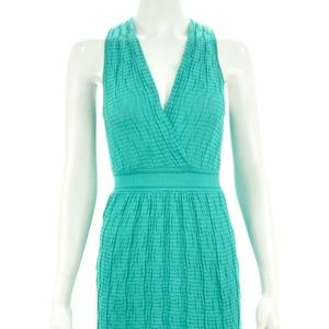 MISSONI TEAL GREEN SLEEVELESS MINI DRESS SIZE 2